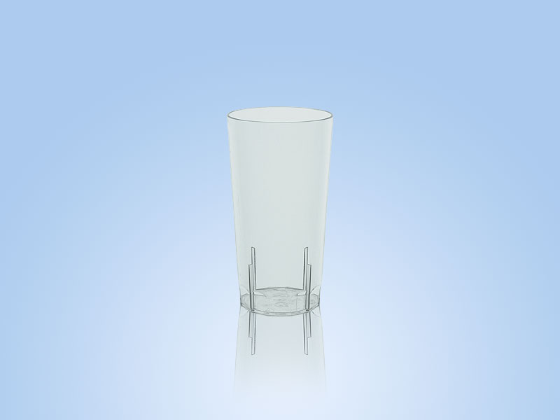 reusable high ball glass