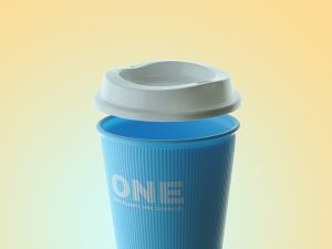 Reusable Coffee Cup Lid 1