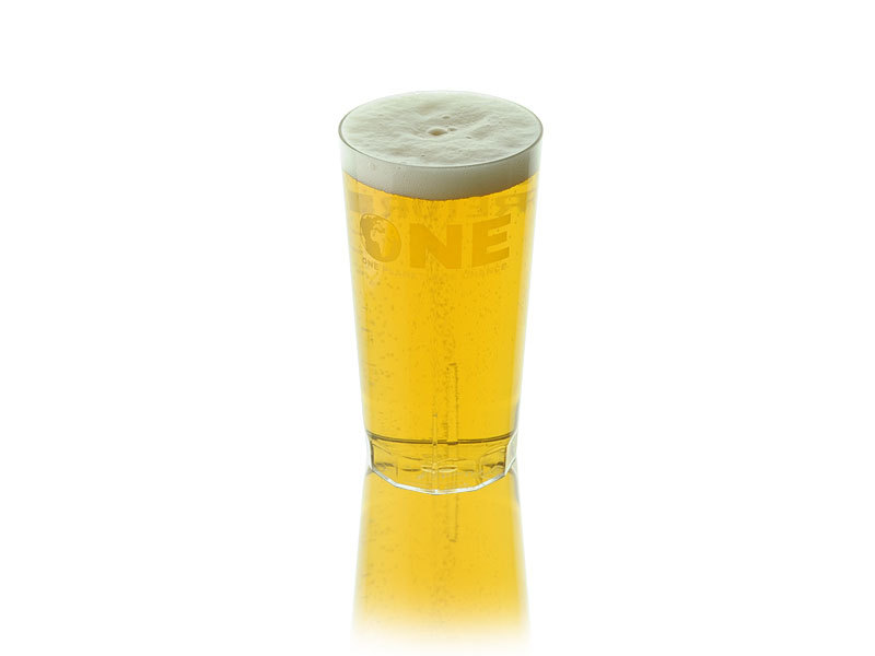 Official ONE Reusable Half Pint To Brim (10oz)