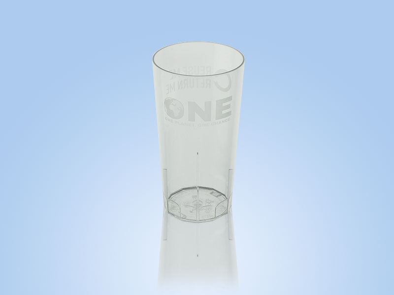 Official ONE Reusable Half Pint To Brim (10oz) 1