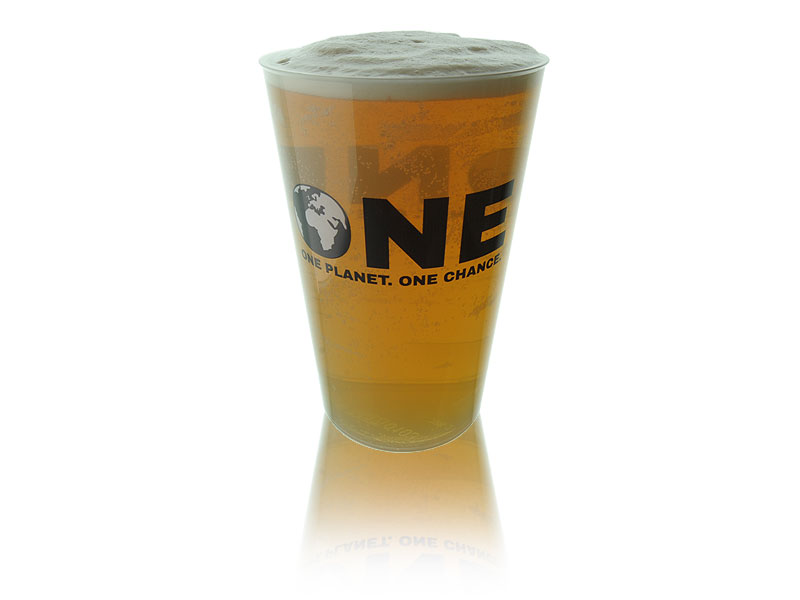 Official ONE Polypropylene Reusable Pint To Brim (20oz)
